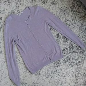 Forever 21 lavender sweater cardigan